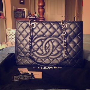 Chanel GST with organizers